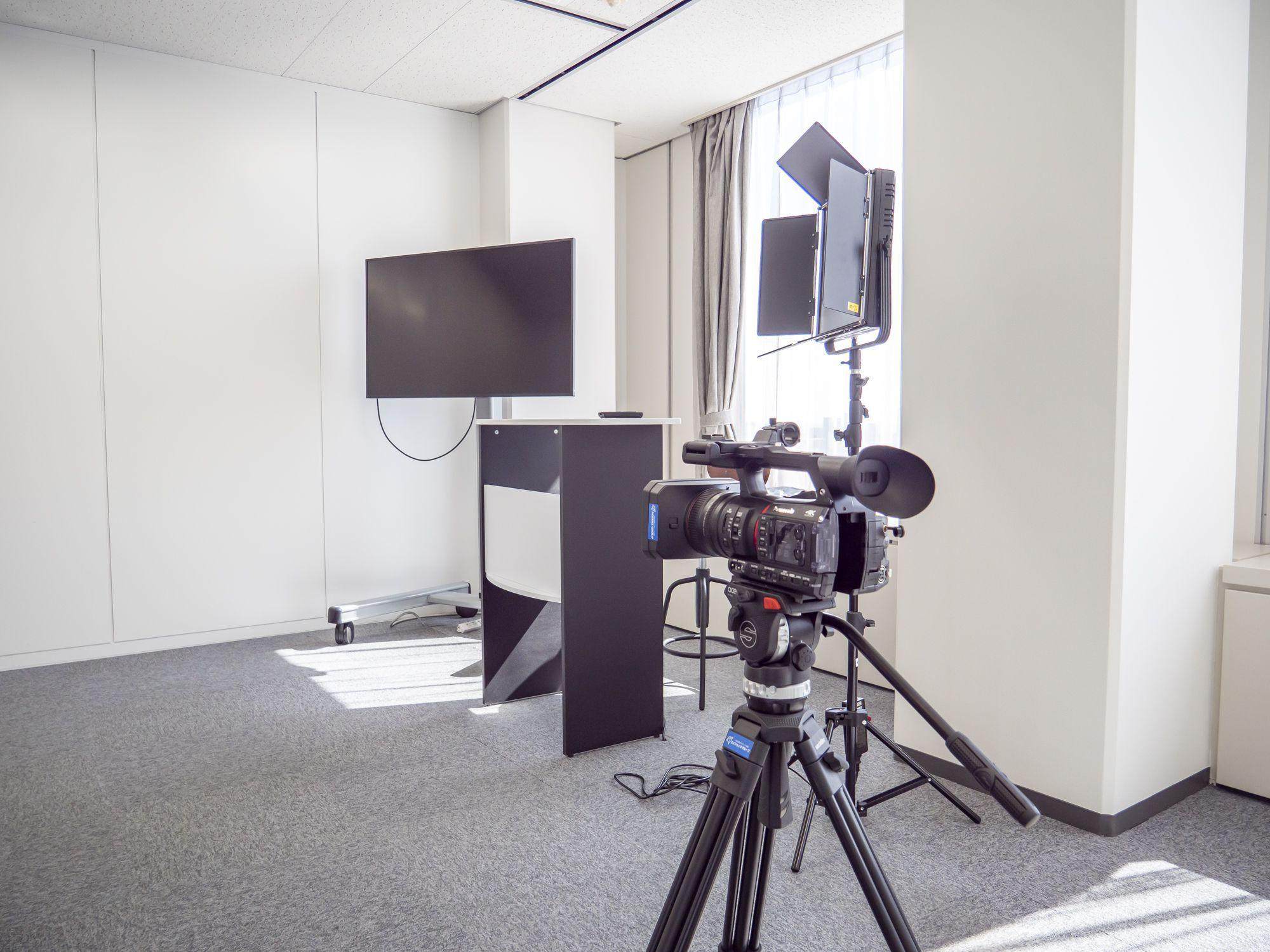 撮影スタジオ写真